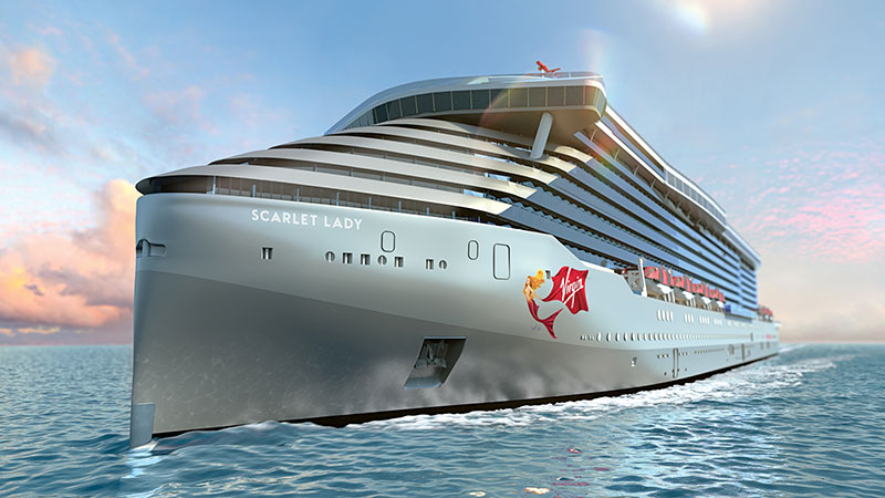 Virgin Voyages Takes Delivery Of Scarlet Lady